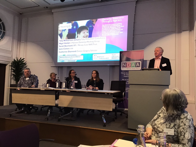 National Dementia Action Alliance Conference – Co-Production in Dementia Care